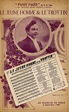Partition de 1903 et carte-chanson.