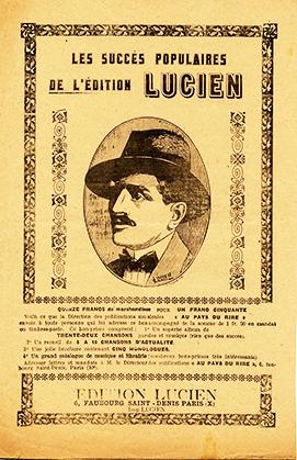 Petit format illustré, imprimé et publié par l'édition Lucien.