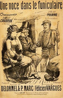 Une partition de l'époque, créée par Polaire en 1893.