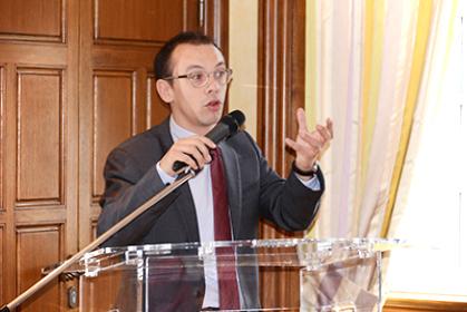 Antoine Semeria, avocat spécialisé dans le sport, animateur du site Avosports.