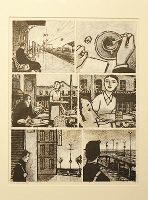 Illustrations pour une chanson de Cabrel.
