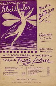 Gigolette, opérette en trois actes sur une musique de Franz Lehar (1924).