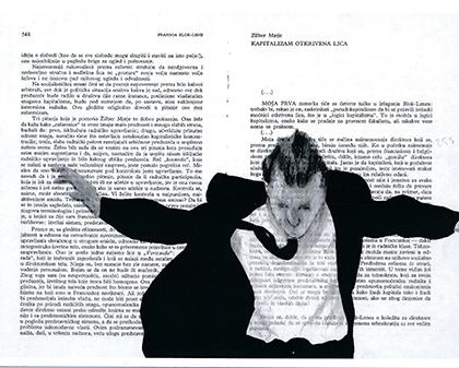 Extrait du Panic Book de Nemanja Nikolic.