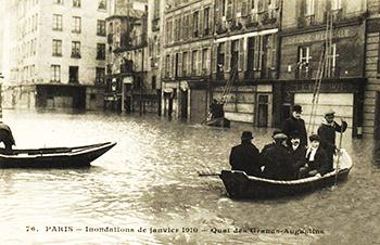 Les rues de Paris en 1910