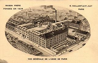 Une usine parisienne du 19e siècle.