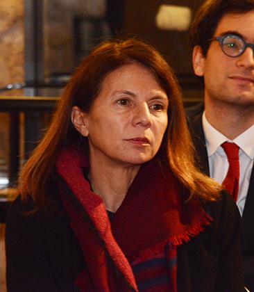 My-Kim Yang-Paya, membre du conseil de l'ordre du Barreau de Paris, responsable culture avec Arnaud Gris