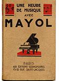 Réunit 9 succès de Mayol; préface de Charles Cluny, racontant son arrivée à Paris, 1er mai.