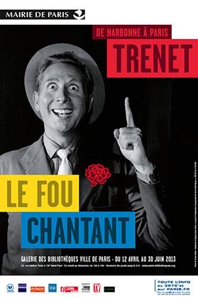 affiche de l'exposition présentée, à Paris, jusqu'au 30 juin.