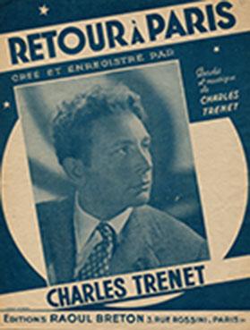 """En 1947, Trenet chante : """"dans la p'tite gare, un sémaphore appelle ces gens, tous ces braves gens, de la Varenne..."""