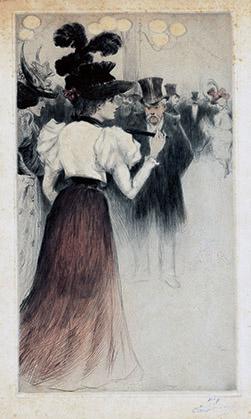 Eugène Delâtre : le Bal.