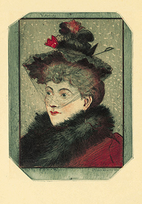 Eugène Delâtre, tête de la Parisienne, 1893.