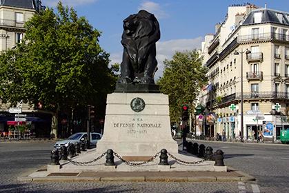 Notre lion :  superbe et majestueux.