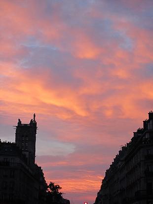 le ciel de Parisb