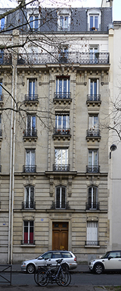 Le 20, avenue du Parc Montsouris.
