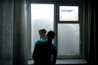 La Nuit polaire a une influence importante sur la vie des gens. Généralement, les habitants disent être habitués à une vie sans lumière du soleil. photo : Elena Chernyshova.