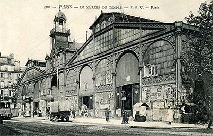 Le marché construit par Jules de Mérindol est repris par la ville en 1897.
