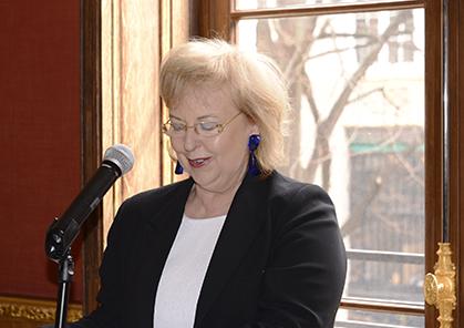 Michèle Jacobs, directrice de la francophonie, de la promotion du français et des relations institutionnelles pour TV5 Monde.