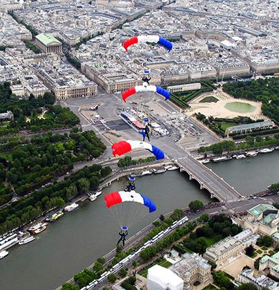 La place de La Concorde.