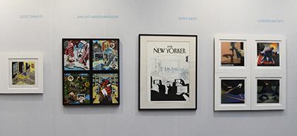 La galerie Martel, créée en novembre 2008, met en avant les arts graphiques.