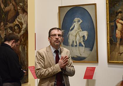 Jean Vittet, commissaire de l'exposition.
