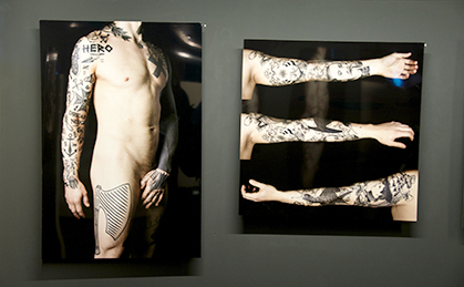 Mondial du Tatouage, photos de Zoé Forget.