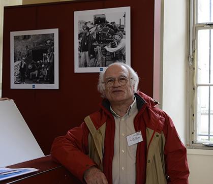 Bernard Tichit, collectionneur, ancien ingénieur en électronique chez Thompson, spécialiste de la télévision.