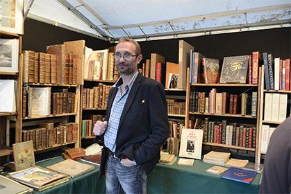 Michel Thévenet de la Librairie Bourdonnaise.