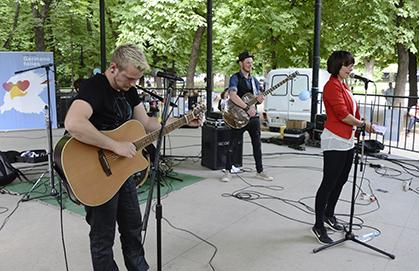 l'orchestre rock Jenix invité par le Cidal.