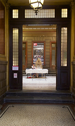 Hôtel Pams, à Perpignan, au siège de l'association Visa pour L'image.