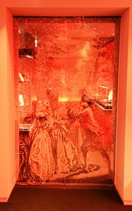 Aux portes de l'exposition.