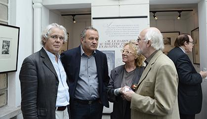 Le vice- président de la Fondation : François Legrand (peintre), le président : François Larrieu (peintre),  la responsable des dons et legs : Anne-Marie Sabatier (peintre), le trésorier : Yves Dodeman (amateur d'art).