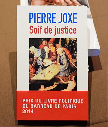 1er prix du livre politique du Barreau de Paris