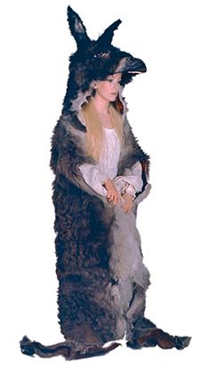Photo des essais de costumes, Il était une fois Peau d'âne Photo Michel Lavoix ® 2003 Succession Demy.