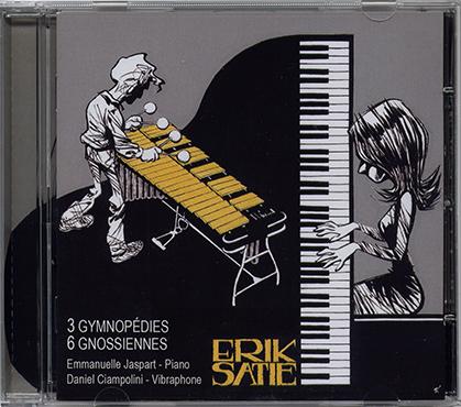 Ce disque qui propose une interprétation au piano et vibraphone est en vente sur notre site.