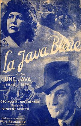 Fréhel est décédé rue Pigalle, en 1951. Elle a été l'interprète d'un des grands titres de la chanson française : La java bleue, paroles de Géo Koger et Noël Renard musique de Vincent Scotto.