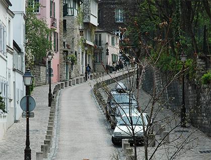 La rue de l'Abreuvoir.