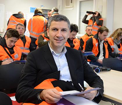 Christophe Najdovski, adjoint à la Mairie de Paris, chargé des transports.
