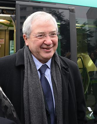 Jean-Paul Huchon; président de l'Île-de-France et du Stif.