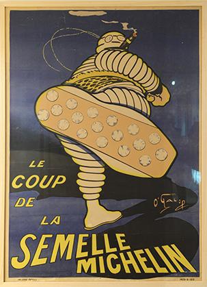 Les descendants de Marius Rossillon, dit 0'Galop le créateur du Bibendum de Michelin ont, à l'image de leur ancêtre donné un sérieux coup d'accélération… au Musée.
