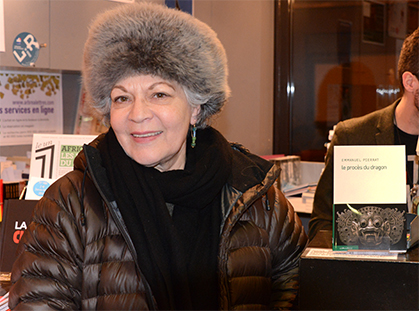 Marike Gauthier, directrice des Editions le Passage était venue les rejoindre.