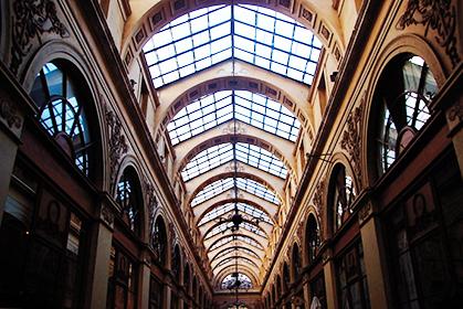 Galerie Vivienne, une des superbes verrières.