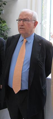 Hugues R. Gall, membre de l'Académie des beaux-arts et directeur de la fondation Claude Monet.