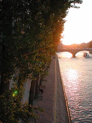 Les quais de la Seine. (Photo : D. Germond)