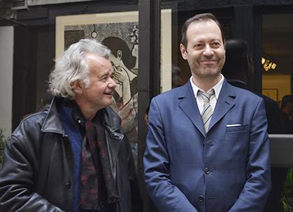Loustal présent pour le vernissage nous a dit travailler sur un nouveau projet avec Jean-Claude Götting, à découvrir dans un an.