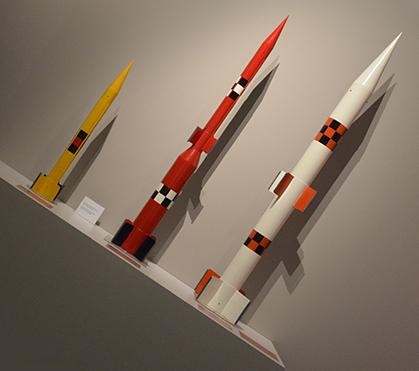 Des fusées au 1/5e.