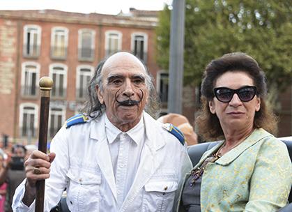 Dali et Gaia de retour à Perpignan, le 27 août 2015.