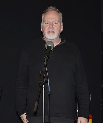 Le réalisateur Guy Maddin était au centre Pompidou pour parler de son film.