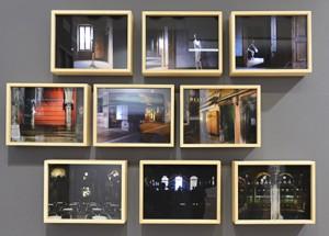 Série Atmosphère à Venise (2015) de Claudio Argentiero, président des archives photographiques italiennes, l'AFI (stand A4), organisateur du Festival Photographique Italien. Il présente trois techniques différentes, numérique, infrarouge, et lightbox pour trois séries différentes.