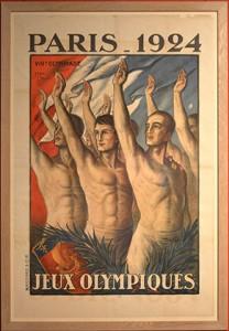 Paris accueille en 1924 les jeux Olympiques.