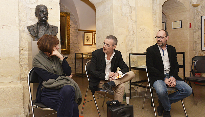 Pascale Robert-Diard, Emmanuel Pierrat et Jean-Philippe Deniau